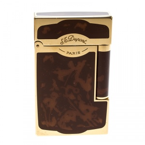 S.T. Dupont Brown Chinese Lacquer Line 2 - 16881 Lighter