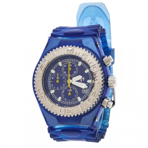 Technomarine Blue Stainless Steel Yacht Y12 Men's Wristwatch 42 mm