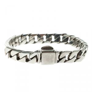 Tiffany & Co. Silver Curb Link Bracelet