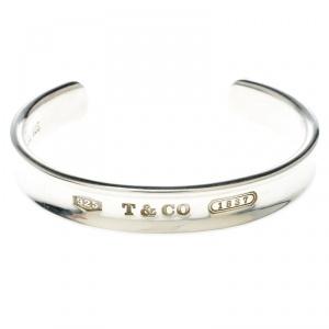 Tiffany & Co. 1837 Silver Wide Open Cuff Bracelet