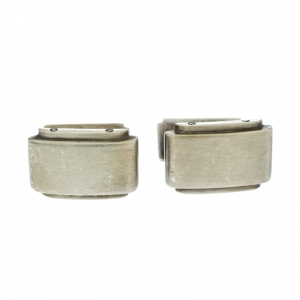 Tiffany & Co. Metropolis Silver Cufflinks