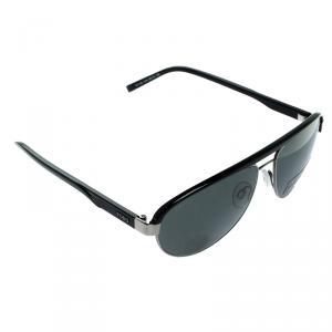 Tod's Black TO102 01N Aviator Sunglasses