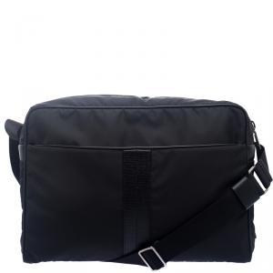 Tod's Black Nylon Laptop Bag