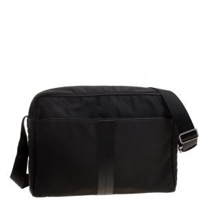 Tod's Black Nylon Messenger Bag