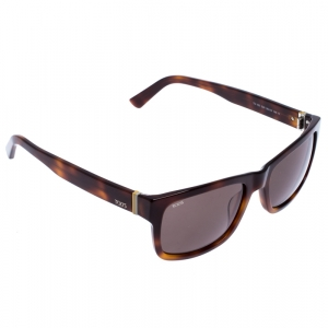 Tod's Brown Tortoise Shell Gradient TO 163 Square Sunglasses