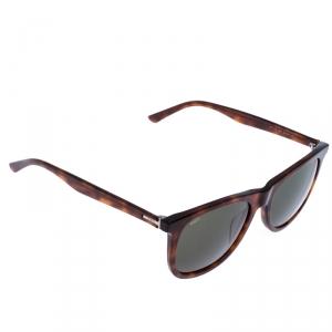 Tod's Brown/Green Lens TO 178 Wayfarer Sunglasses