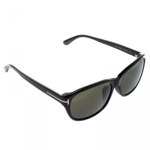 Tom Ford Black TF 396-F London Rectangular Sunglasses