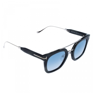 Tom Ford Ash Grey TF541 Alex-02 Square Sunglasses