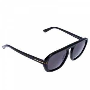 Tom Ford Black David-02 Aviator Sunglasses