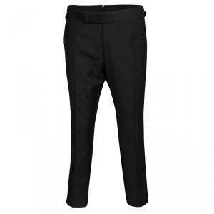Tom Ford Brown Wool Regular Fit Trousers L