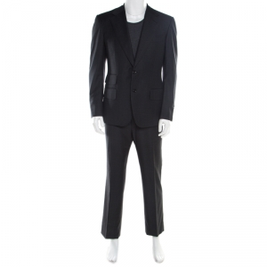 Tom Ford Grey Wool Tailored Suit L