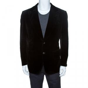 Tom Ford Black Velvet Regular Fit Blazer XXL