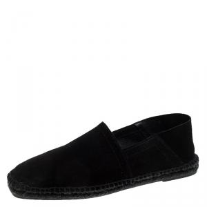 Tom Ford Black Suede Barnes Espadrilles Size 44