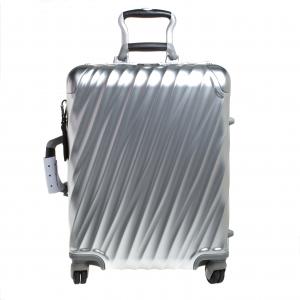 TUMI Sliver Aluminum 4 Wheel Short Trip Packing Case 19 Degrees Luggage 55