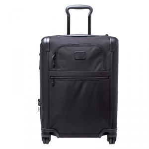TUMI Black Nylon Alpha 2 Rolling Suitcase