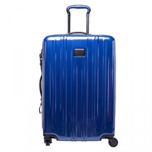 TUMI Blue PVC V3 Rolling Suitcase