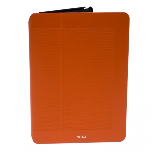 Tumi Orange/Black Leather and Rubber Prism iPad Air 2 Case