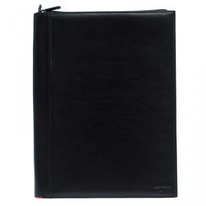 TUMI Black Leather Document Holder