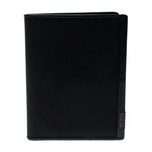Tumi Black Nylon Passport Wallet