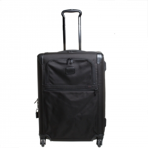 حقيبة سفر تومي شورت تريب ايكسباندابل 4 عجلات نايلون أسود 55