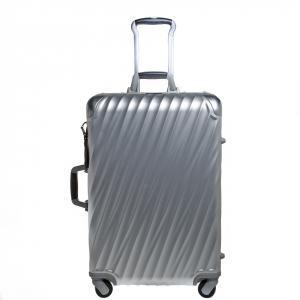 حقيبة سفر تومي شورت تريب باكينغ كايس 19 ديغريس 4 عجلات ألومنيوم فضي 65