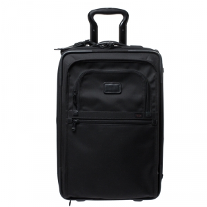 TUMI Black Nylon 2 Wheel Continental Carry On Luggage