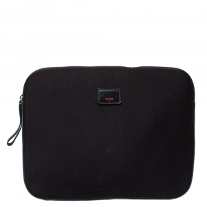 Tumi Black Neoprene Laptop Cover