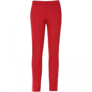 Valentino Rosso/Heavy Pink Contrasting Bands Pants S