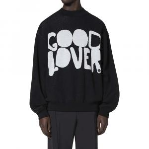 Valentino Garavani Black Good Lover Cotton Blend Sweater Size L