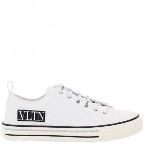 Valentino Garavani White Giggies Sneakers Vltn Size EU 41