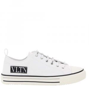 Valentino Garavani White Giggies Sneakers Vltn Size EU 43