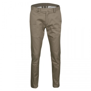 Valentino 21. Khaki Cotton Rockstud Straight Fit Untitled Pants S