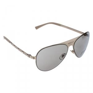 Versace Gold/Black MOD.2189 Aviator Sunglasses