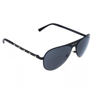 Versace Black MOD.2189 Aviator Sunglasses