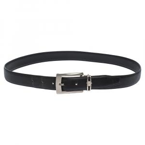 Versace Black Leather Belt 115CM
