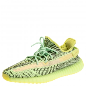 Adidas Yeezy Green Cotton Knit 350 Yeezyreel Low Top Size 46