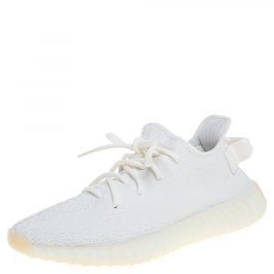Yeezy x Adidas Boost 350 V2 Cream/Triple White Sneakers Size 42.5