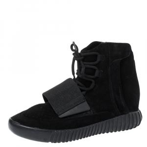 Yeezy x adidas Boost 750 Triple Black Sneakers Size 41 2/3