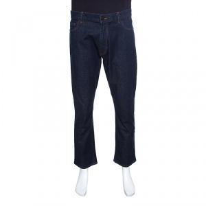 Z Zegna Indigo Dark Wash Regular Fit Denim Jeans XL