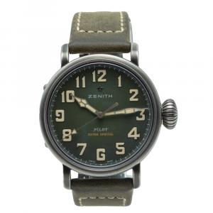 Zenith Pilot Type-20 Extra Special Green Dial Limited Edition Men's Watch 40 MM