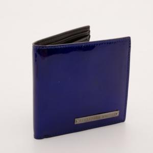 Alexander McQueen Blue Wallet