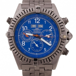 Apogaum Navigator Chronograph Mens Wristwatch 44 MM