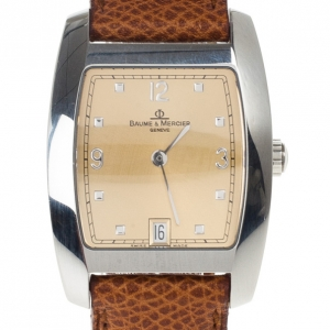 Baume & Mercier Mens Wristwatch 30 MM