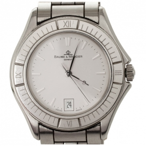 Baume & Mercier SS Mens Wristwatch 32 MM