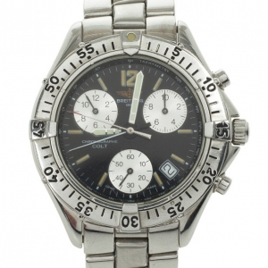 Breitling Colt Chronograph SS Mens Wristwatch 38 MM