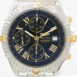 Breitling Crosswind SS Tachymeter Mens Wristwatch 44 MM