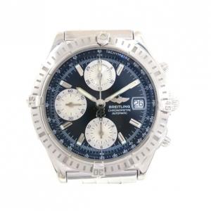 Breitling Chronomat SS Black Mens Wristwatch