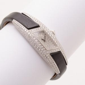 Cartier Privee Collection Ladies Watch White Gold/Diamonds