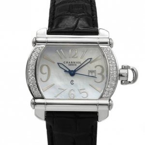 Charriol Swiss Movement Diamond 18K Gold Ladies Watch