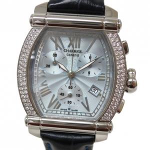 Philippe Charriol Columbus Chronograph Dia Bezel Mens Wristwatch